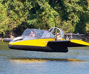 Fliegendes Luftkissenboot