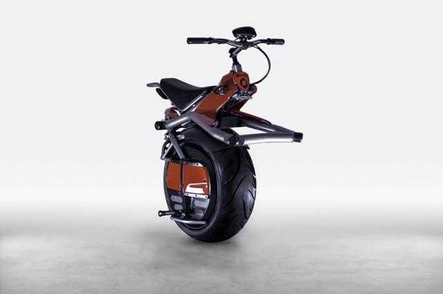 Einrad-Motorrad