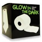 Leuchtendes Toilettenpapier