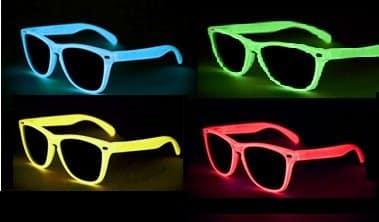 NERD glow brillen