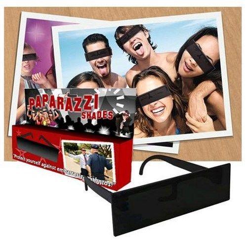 Zensurbalken Paparazzi Brille