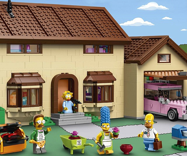 Die Simpsons LEGO Set