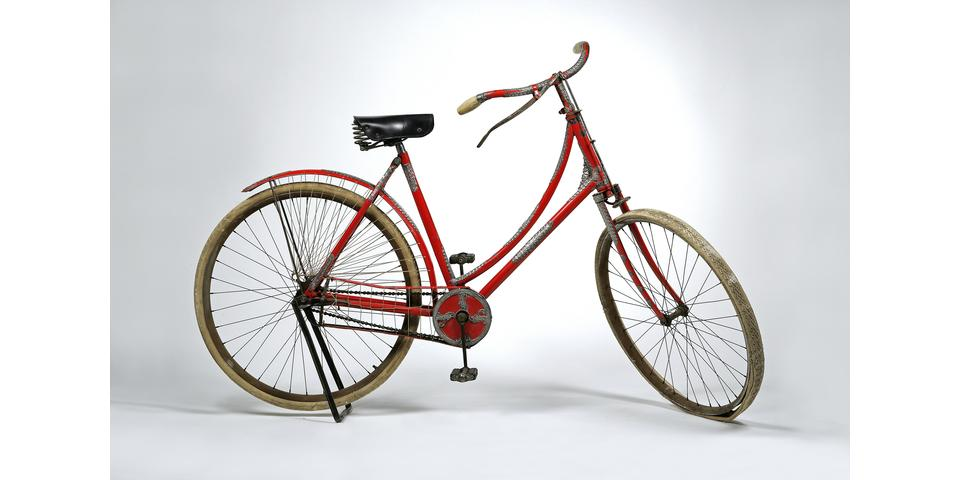 Tiffany & Co. Silver Mounted Lady's_Fahrrad