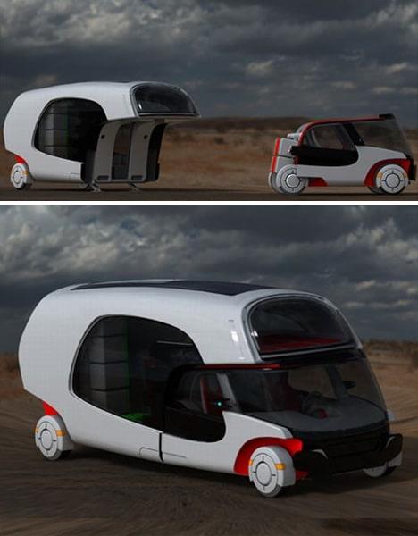 Wohnmobil Wohnwagen Kombination