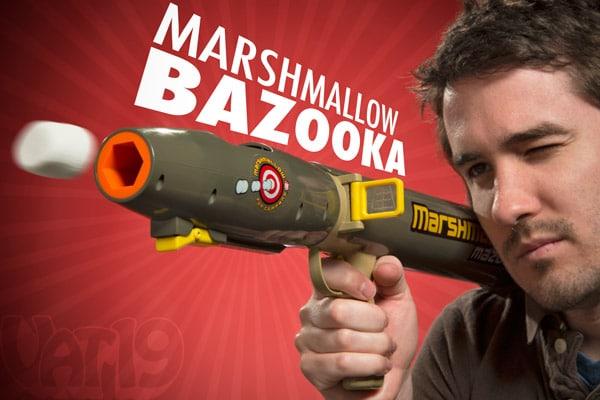 Marshmallow Bazooka