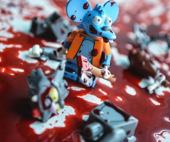 Handgemachte LEGO Figuren