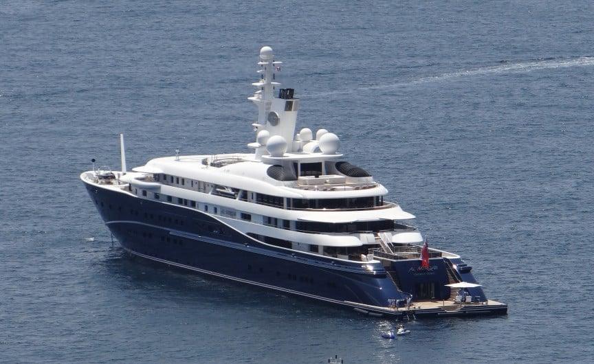 Teuerste luxusyacht der welt  Die 10 teuersten Yachten der Welt | Darumbinichblank