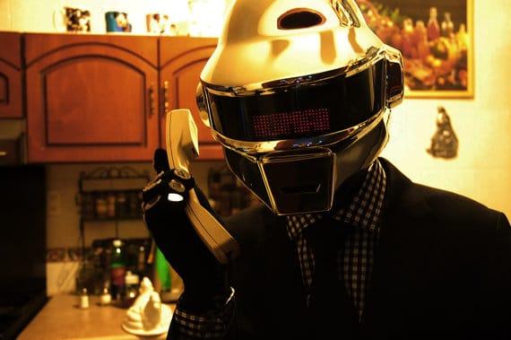 Daft Punk Outfit Kostüm