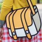 Cartoon Tasche