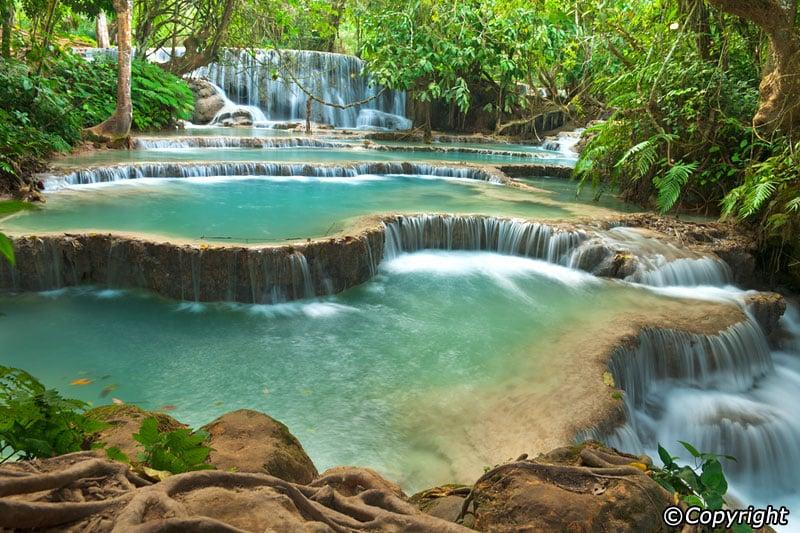 Kuang_Si_Wasserfälle