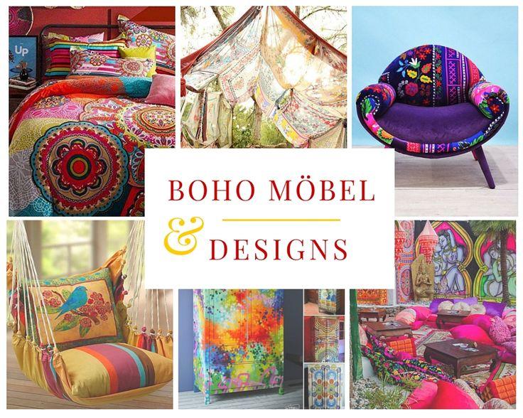 Boho Möbel und Designs