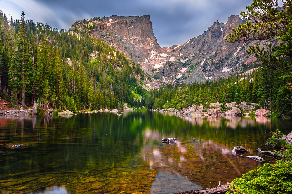 Dream Lake, Colorado via: www.lonelyplanet.com