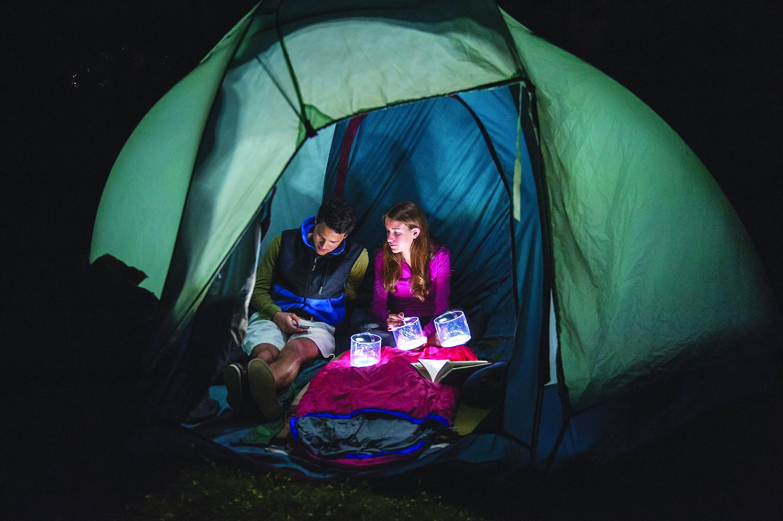 13 Camping Gadgets die man unbedingt haben sollte