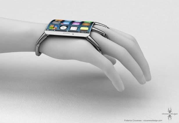 6 Futuristische Smartphone/Smartwatch Konzeptdesigns