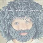 34 Coole Winter Häkel- und Strickmützen