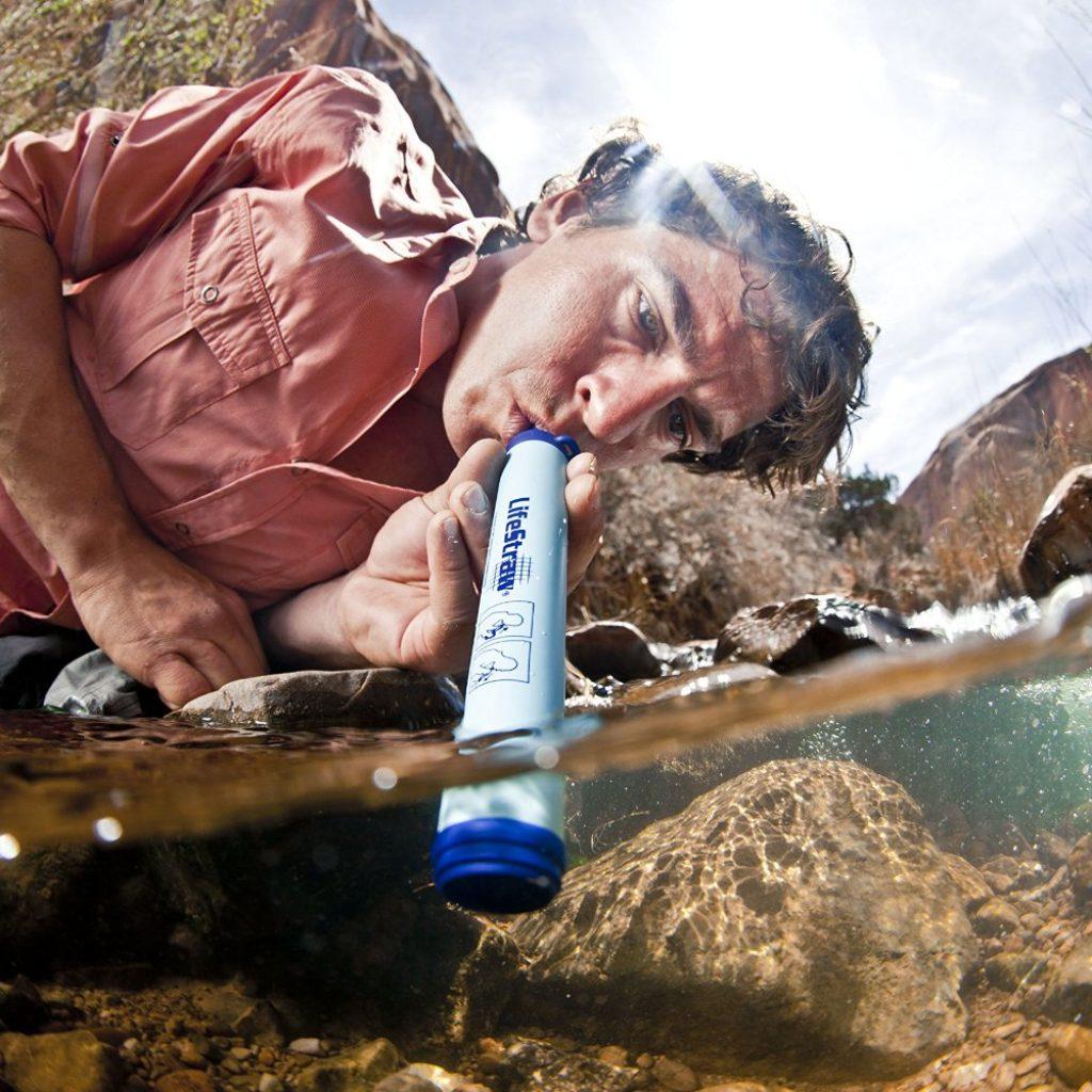 Wassefilter reinigt Wasser Reisen Travel