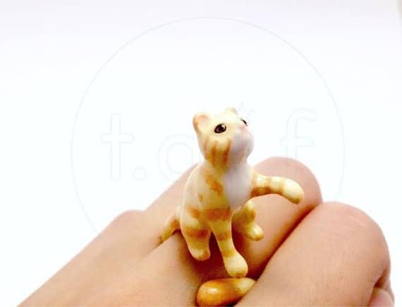 Süßer Katzenring