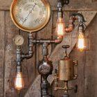 Einzigartige Steampunk Lampen