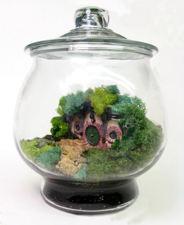 LOTR Hobbit-Terrarium