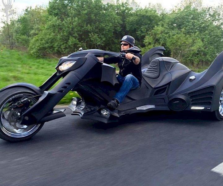 Batman Trike Motorrad