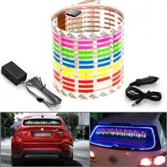 Musik aktiver Auto-Sticker