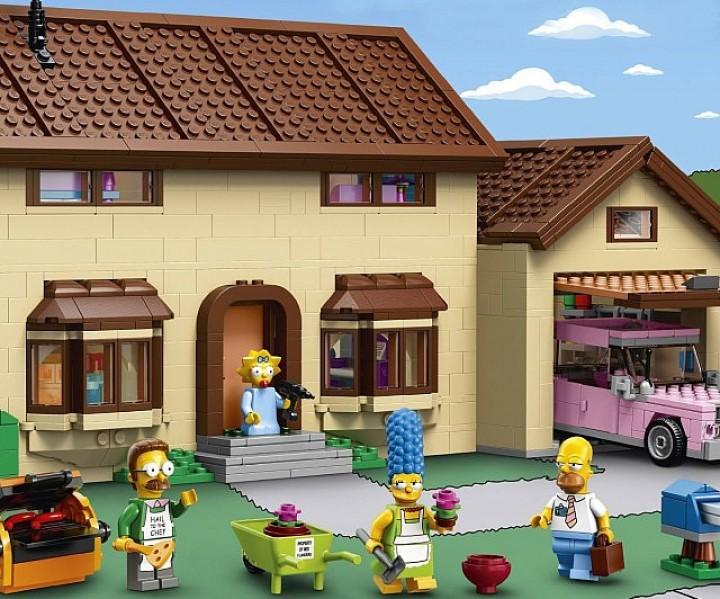 Die Simpsons LEGO Set