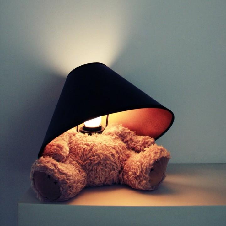 Teddybär-Lampe