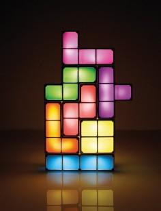 Tetris Tischlampe