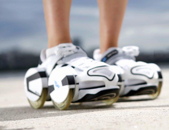 Walk Wing – Rollen zum überziehen über deine Füße