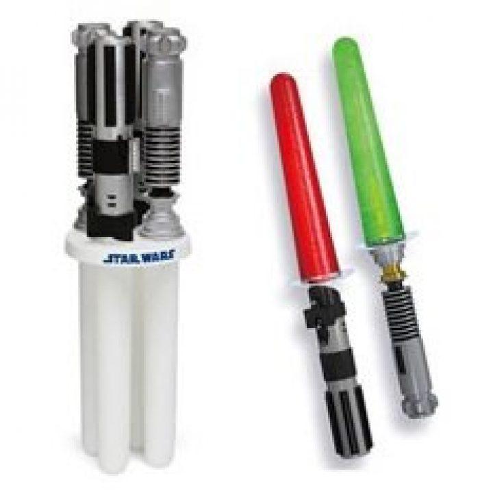 Star Wars leuchtendes Lichtschwert Eis