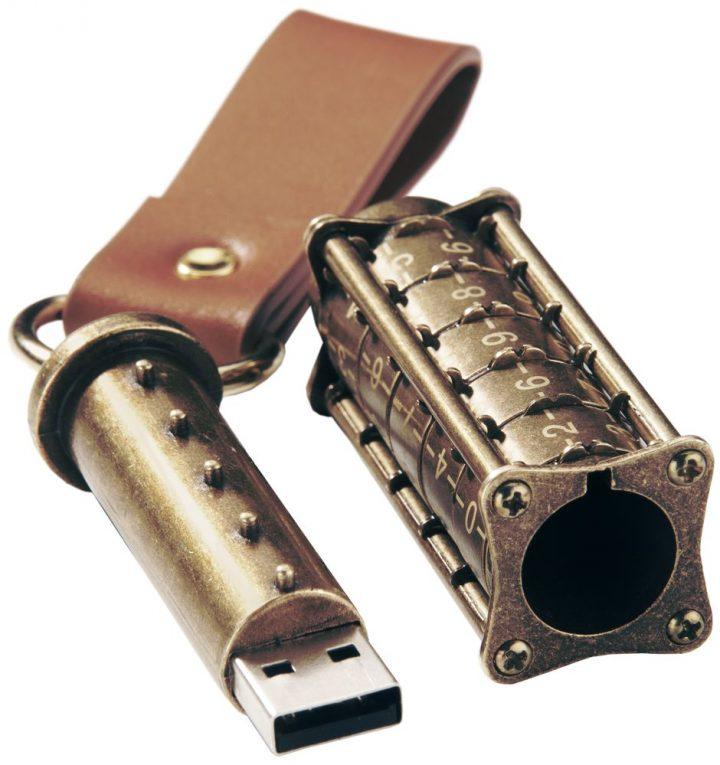 Zahlenschloss USB Drive