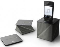 Faltbarer Smartphone Lautsprecher