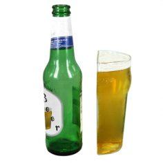Eine Halbe Bierglas