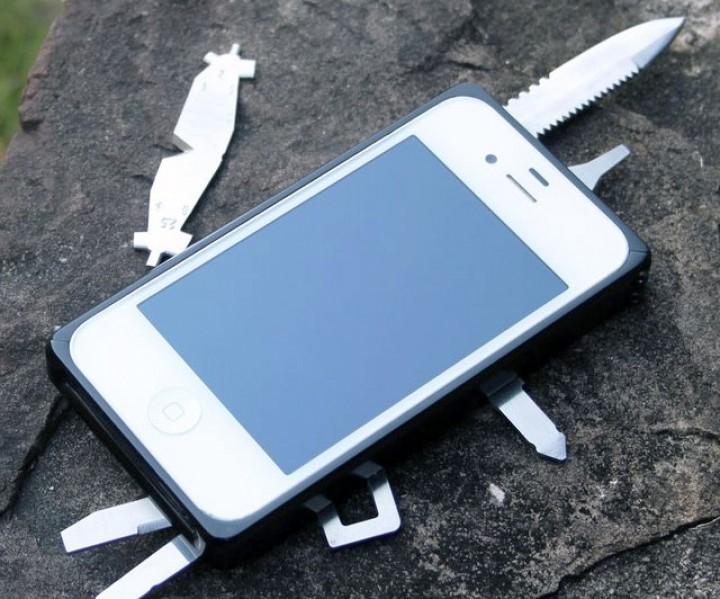 Multifunktionswerkzeug iPhone Hülle