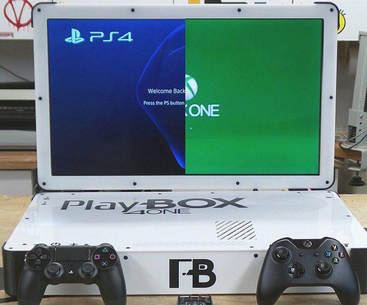XBox One & PS4 Konsolen-Laptop