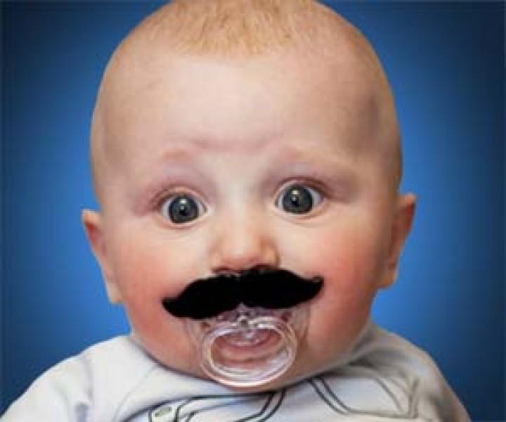 Schnurrbart-Schnuller