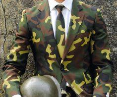 Militär Tarnfarben Anzug